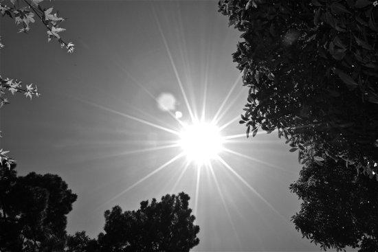 Sun and Sky Art Print