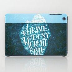 Hermit Iceberg iPad Case