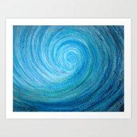 Barrel Wave Art Print