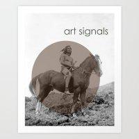 Art Signals  Art Print