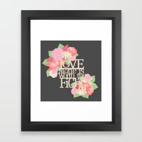 Worth the Fight Framed Art Print