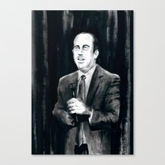 DARK COMEDIANS: Jerry Seinfeld Canvas Print
