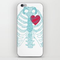 HEart iPhone & iPod Skin