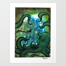 Polū Art Print