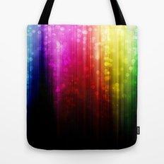 Rainbow Rain. Tote Bag
