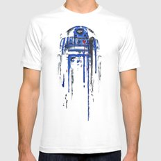 A blue hope 2 Mens Fitted Tee White SMALL