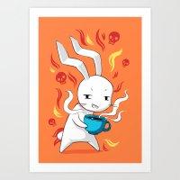 Caffeinated Art Print