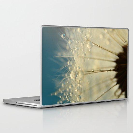 Dandelion with Blue Laptop & iPad Skin