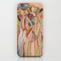 iPhone Cases featuring Los días del sol by maritta jones design