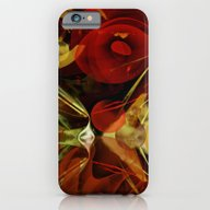 Modern Abstract With Foi… iPhone 6 Slim Case