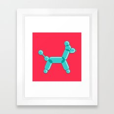 Baloodle Framed Art Print