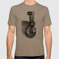 Pilgrim II. Mens Fitted Tee Tri-Coffee SMALL