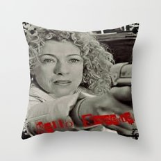 River Song; Hello Sweetie. Throw Pillow