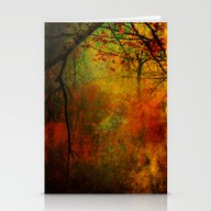 Promises Of A Fall Past Stationery Cards