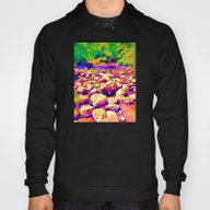 Colorful Rocky Riverbed Hoody