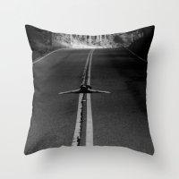 risky business  Throw Pillow