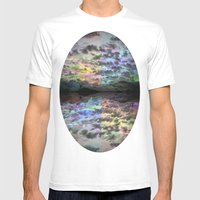 Colors Rolling In Mens Fitted Tee White SMALL