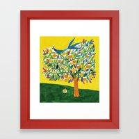 Apple tree Framed Art Print