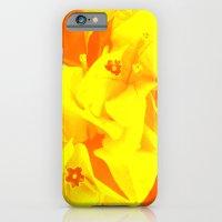 iPhone & iPod Case featuring Ali orange by Keren Shiker