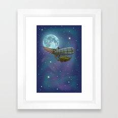 Stellar Exploration Framed Art Print