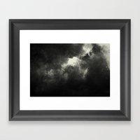 Hole In The Sky I Framed Art Print