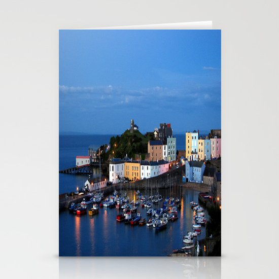TENBY HARBOUR. PEMBROKESHIRE.WALES. Stationery Card
