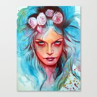 Only the Wicked Canvas Print