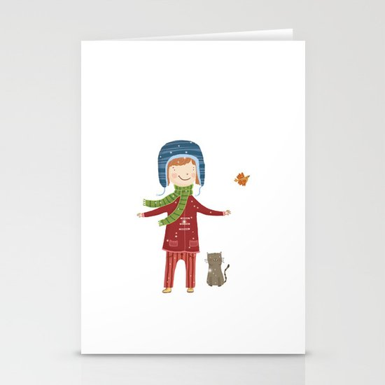 A  BIRD  IN LOVE  Stationery Card