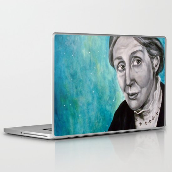 A Room of One's Own {Woolf} Laptop & iPad Skin