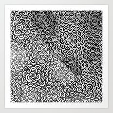 Double Scallop Bomb Art Print