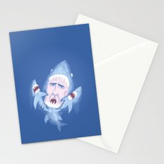 Nic Cage is Sharks! Stationery Cards