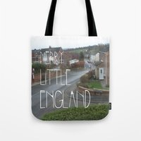 Merry Little England Tote Bag