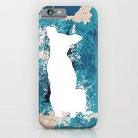 White Dog iPhone 6 Slim Case