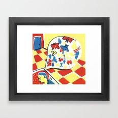 Mottephobia2 Framed Art Print