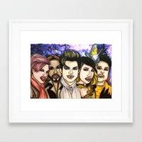Happy GlamWeen Framed Art Print