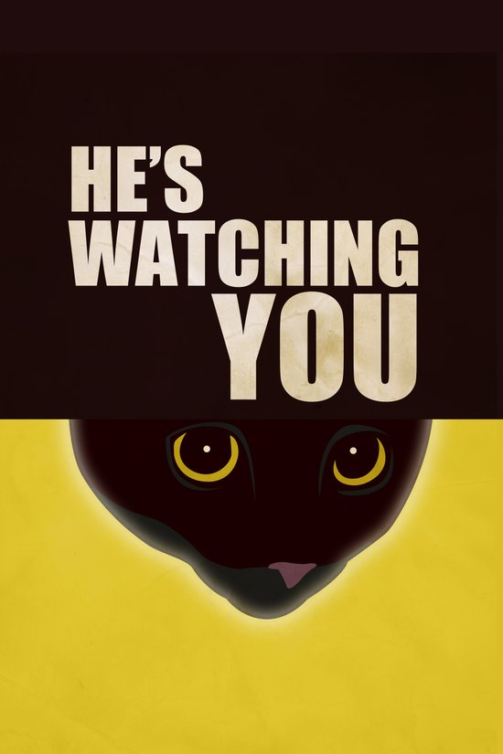 He's Watching You Art Print