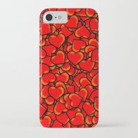 hearts iPhone & iPod Cases featuring Heart by 10813 Apparel