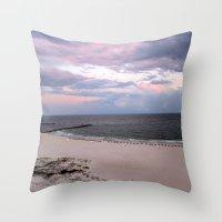 Beach Colors Throw Pillow