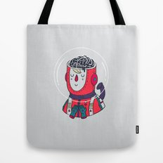 Space On The Brain Tote Bag