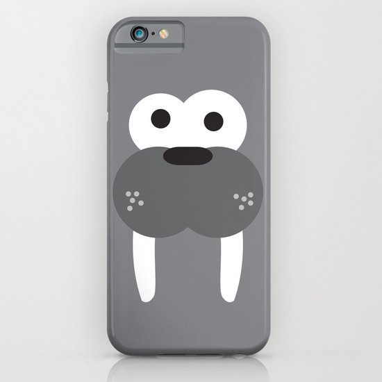 Minimal Walrus iPhone & iPod Case