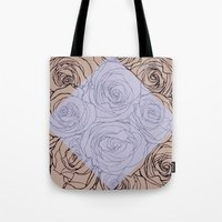Art Nouveau Rose Tote Bag