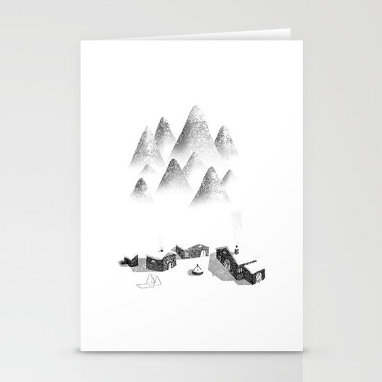The Village Stationery Card
