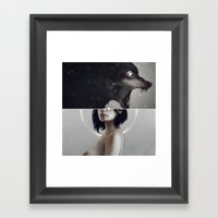 Live To Win IV.  Framed Art Print