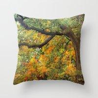 Autumn Warmth Throw Pillow