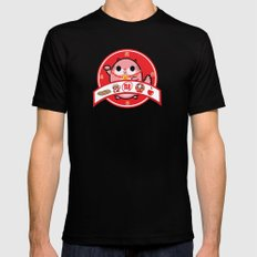 Lucky charm pink lady Mens Fitted Tee SMALL Black