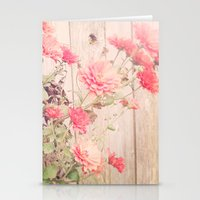 Flowers On The Wall Stationery Cards