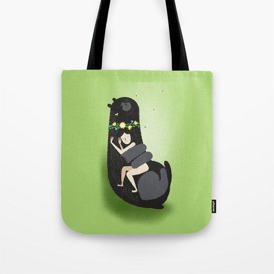 Slumbear Tote Bag