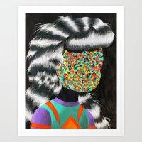 Beautiful Dreamer Anonim… Art Print