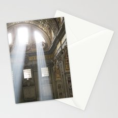 Sun rays in the Vatican Stationery Cards