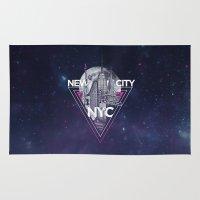 New York City V [pink] Rug